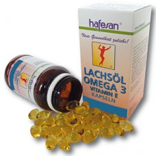 hafesan Salmon Oil + Vitamin E 500 mg Capsules