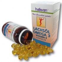 hafesan Lachsöl-Omega 3 + Vitamin E 500 mg Kapseln