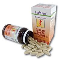 hafesan Železo + Baker + Vitamin C kapsule