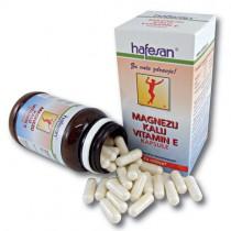 hafesan Magnezij + Kalij + Vitamin E kapsule