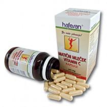 hafesan Matični mleček + Vitamin C 500 mg kapsule