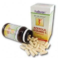 hafesan Acerola Vitamin C 400 mg kapsule