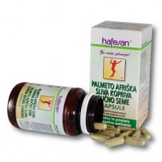 hafesan Palmeto + Afriška sliva + Kopriva + Bučno seme kapsule