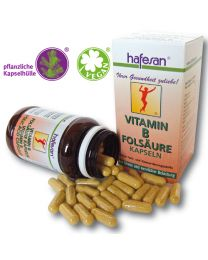 hafesan Vitamin B + Folic Acid + Biotin Capsules